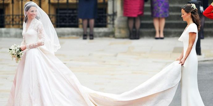 Kate Middleton wedding dress.