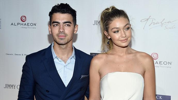 Joe Jonas and Gigi Hadid.