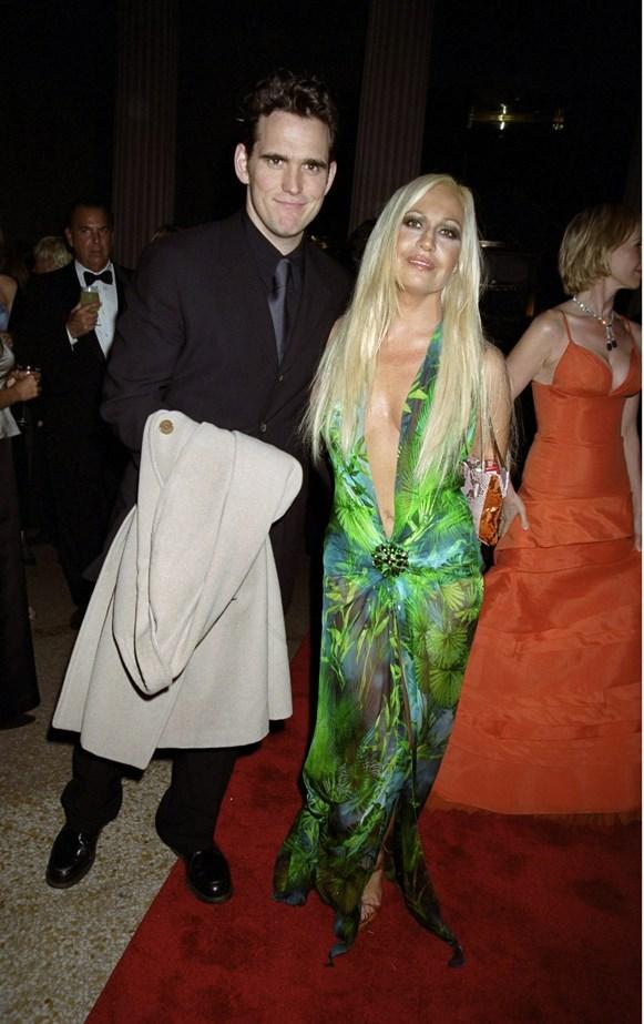 Donatella Versace, 1999.