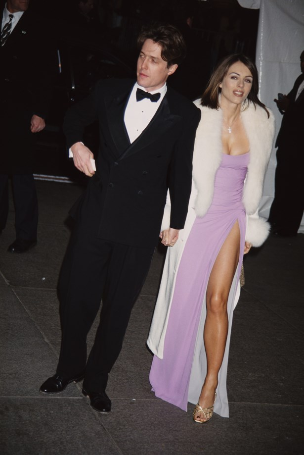 Elizabeth Hurley and Hugh Grant, 1995.