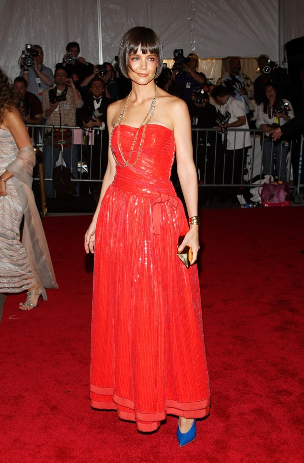 Katie Holmes, 2008.