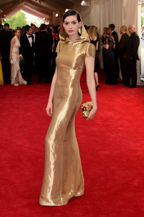 Anne Hathaway, 2015.