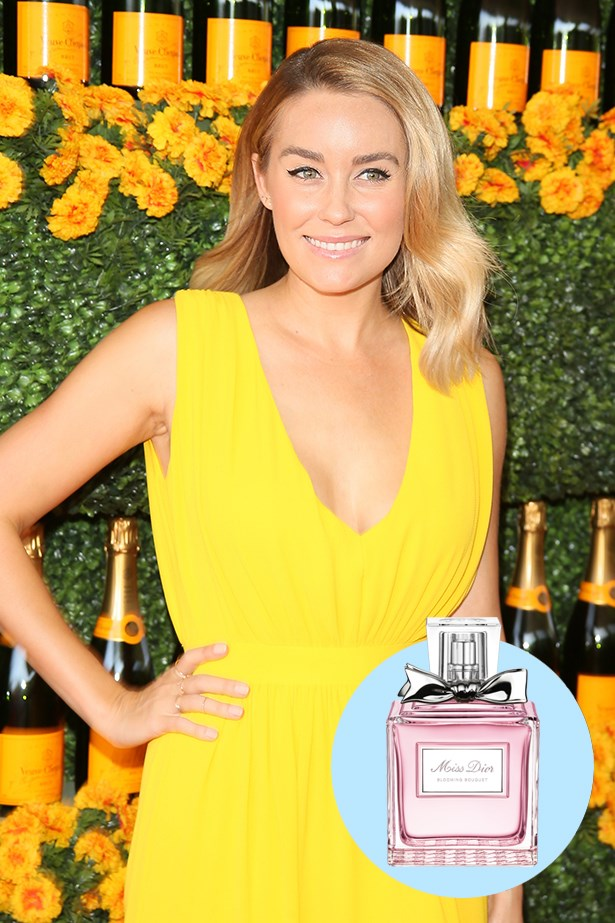 """<p> <strong>Lauren Conrad</strong> <p> """"My favorite perfume is Miss Dior. I've worn it for years."""" <p> Miss Dior Blooming Bouquet EDT, $135 for 50ml, Dior, 02 9295 9022 <p>"""