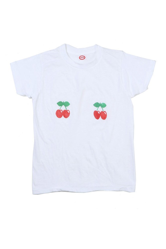 "<a href=""http://shopsuperstreet.com/collections/womens-clothing/products/cherry-t-shirt?variant=16834951942"">T-shirt, approx. $263, Vance at shopsuperstreet.com</a>"