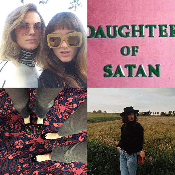 "<strong><a href=""https://www.instagram.com/saylouloumusic/"">@saylouloumusic</a></strong><br> These muso babes have your '70s dressing inspo sorted, and a great sense of humour to boot.<br><br> — <a href=""https://www.instagram.com/ellemcclure"">@ellemcclure</a>, digital producer"