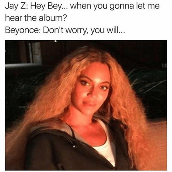 Beyonce Lemonade meme