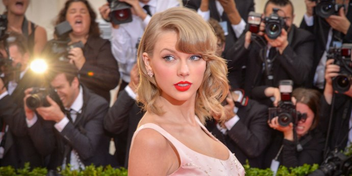 Taylor Swift at the 2014 MET Gala.