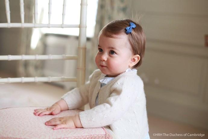 The ultimate Princess look.