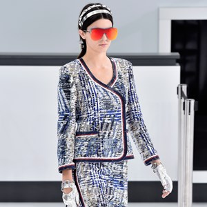 Kendall Jenner on the Chanel runway