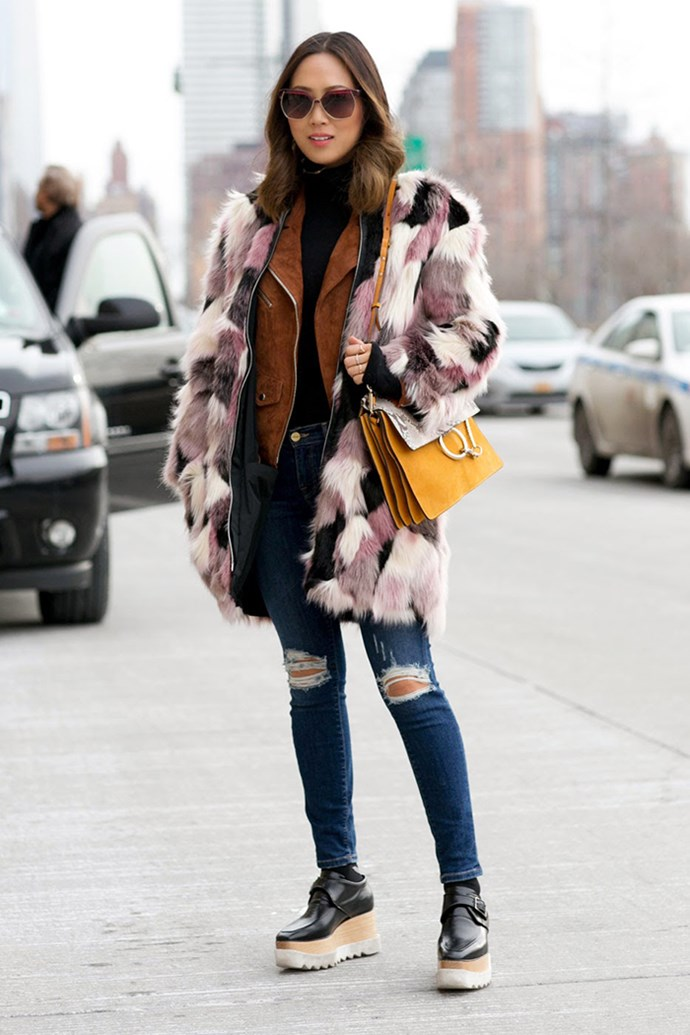 "Aimee Song of <a href=""http://www.songofstyle.com/"">Song of Style</a>."