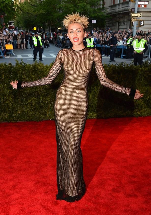 Miley Cyrus, 2013.