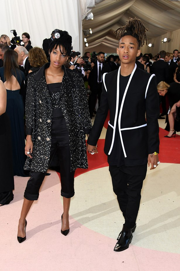 Willow and Jaden Smith.