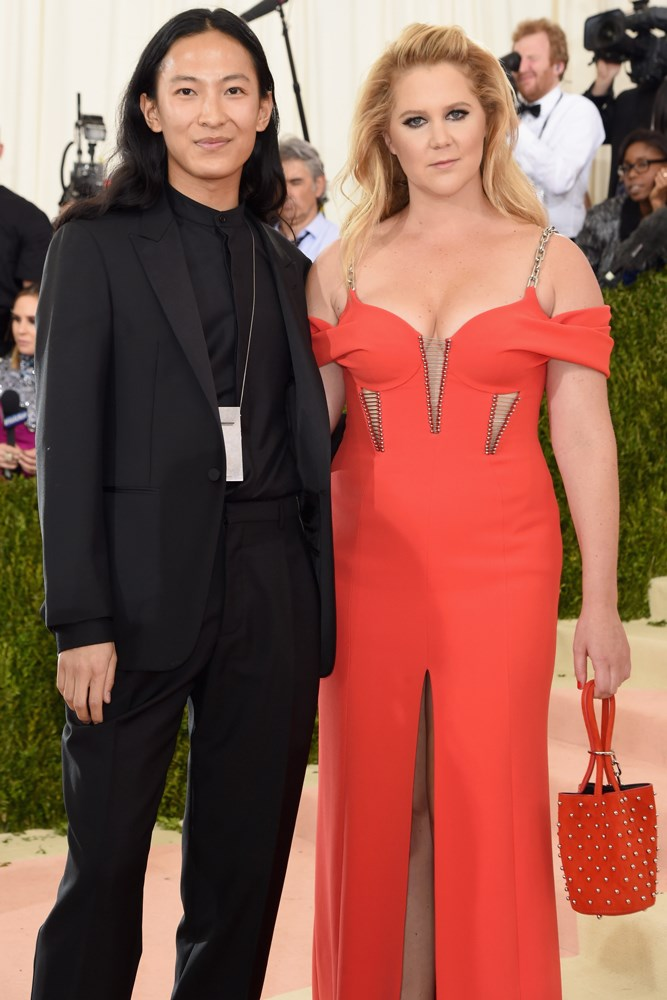 Alexander Wang and Amy Schumer