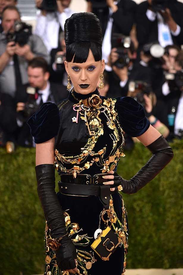 Katy Perry wears Prada at the 2016 Met Gala