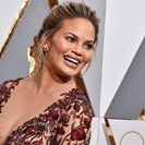 Chrissy Teigen's Baby Boobs Have Declared War On Her Clothing image