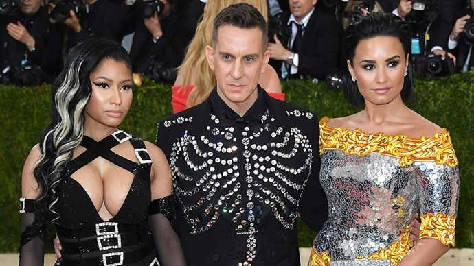 Nicki Minaj and Demi Lovato at the 2016 Met Gala.