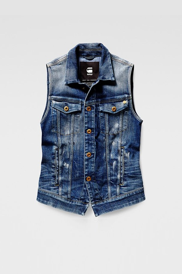 "<a href=""https://www.g-star.com/en_au/product/women/jackets-blazers/21.161.D01114.7599.6026"">Sleeveless Jacket, $220, G-Star at g-star.com</a>"