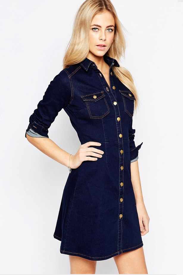 "<a href=""http://www.asos.com/au/Oasis/Oasis-Button-Through-Denim-Dress/Prod/pgeproduct.aspx?iid=6017476&cid=17396&sh=0&pge=3&pgesize=36&sort=-1&clr=Denim&totalstyles=155&gridsize=3"">Button Through Denim Dress, $87, Oasis at asos.com</a>"