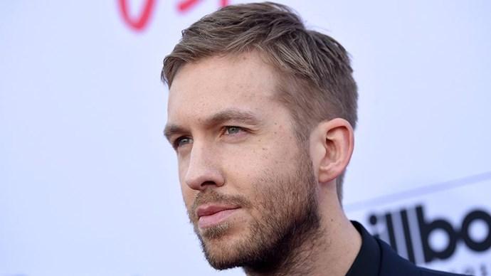Calvin Harris at the 2016 Billboard Music Awards