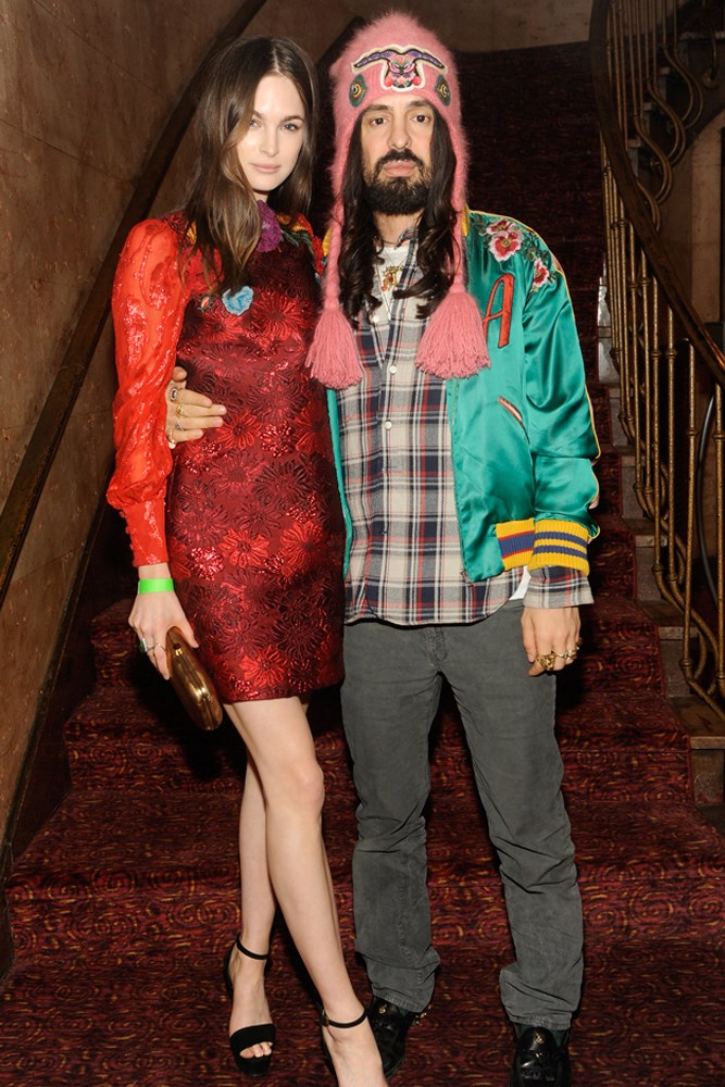 Laura Love and Alessandro Michele