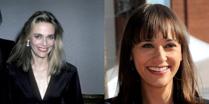 <strong>Peggy Lipton and Rashida Jones</strong> <br><br> At 40 years old.