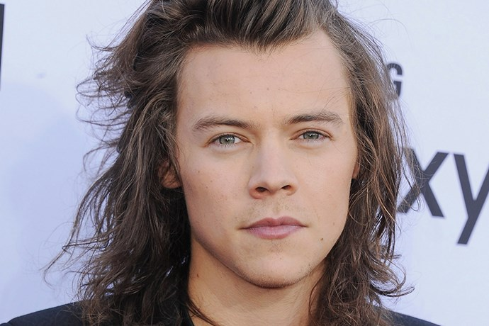 Harry Styles Cuts Off Hair