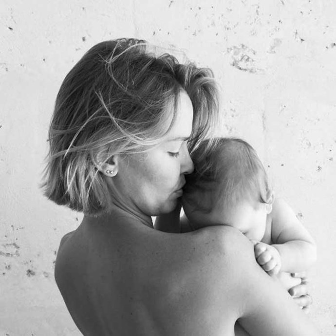 </p><P>When they created an adorable little person—their two-year-old son, Rocket.