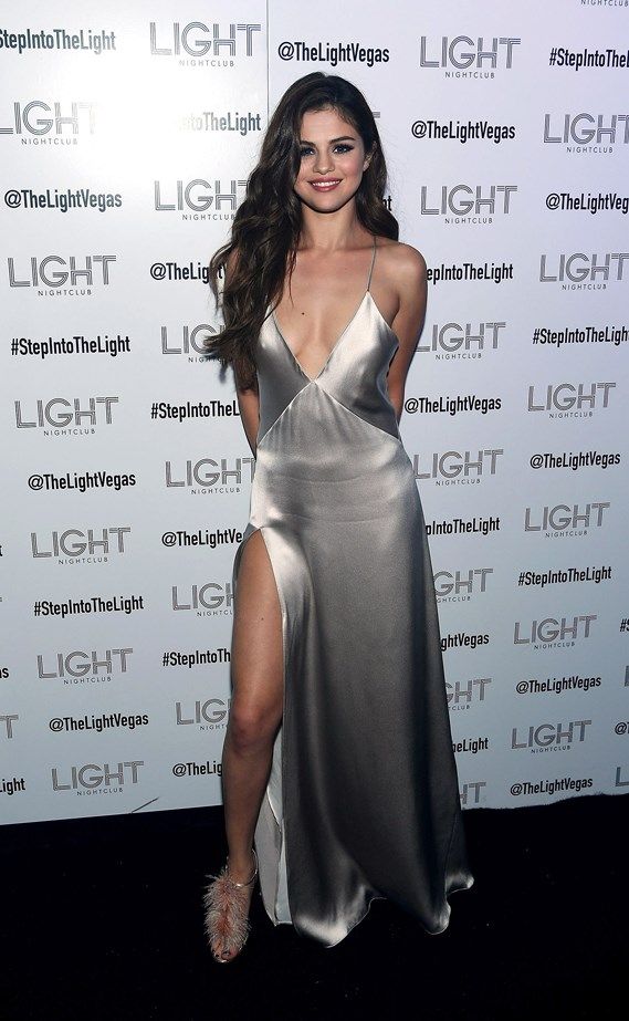 <strong>Selena Gomez, May 2016</strong> <br><br> Revival Tour kick off after party at Light Nightclub at Mandalay Bay Hotel and Casino.