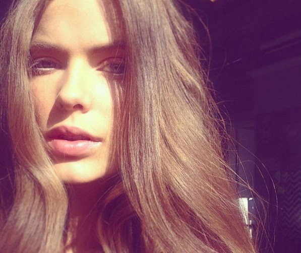 <strong>Robyn Lawley.</strong><br><br> The face you pull when last night's waves ghosted.