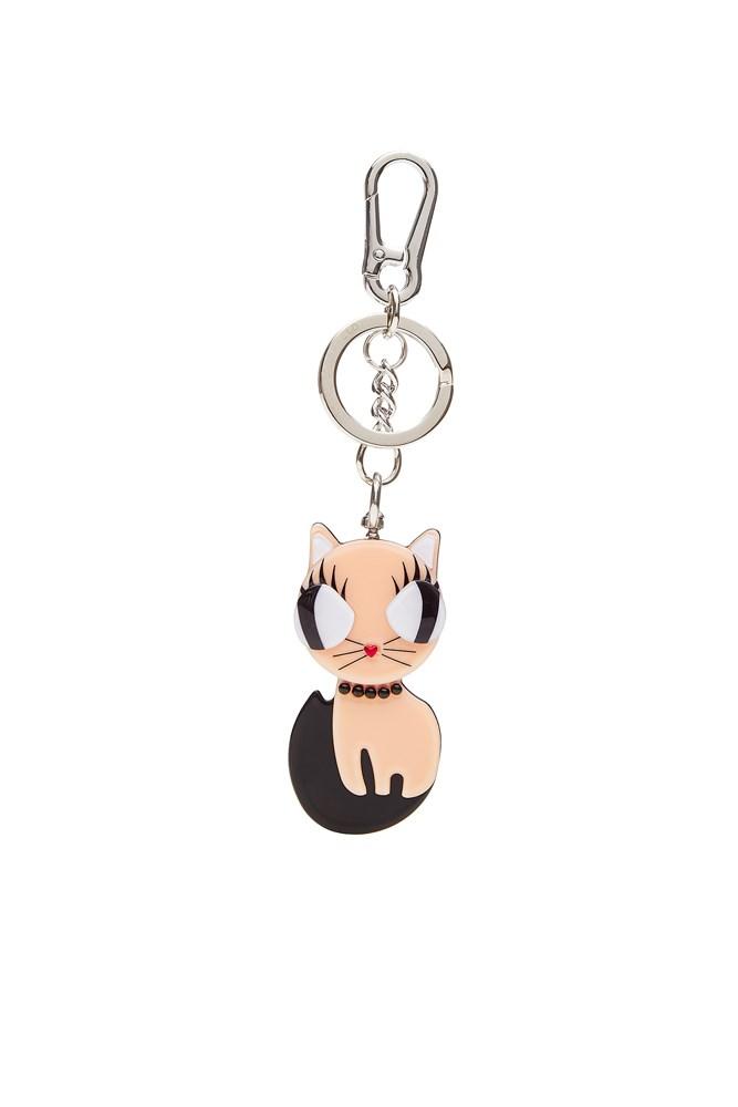 "<a href=""http://www.stylebop.com/au/product_details.php?id=669985"">Keychain, $36, Karl Lagerfeld at stylebop.com</a>"
