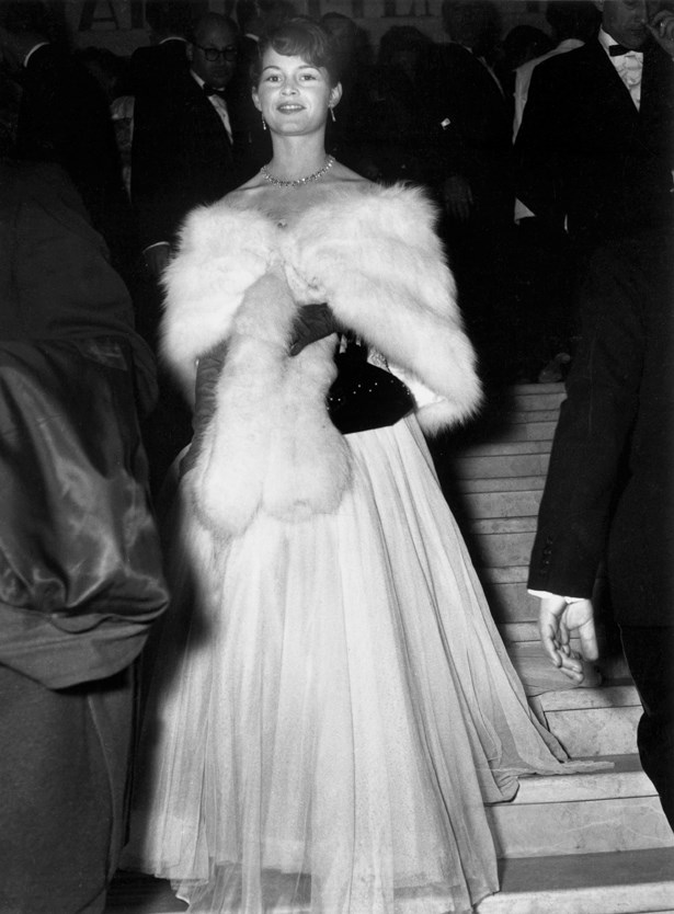 Bridgette Bardot, 1953.