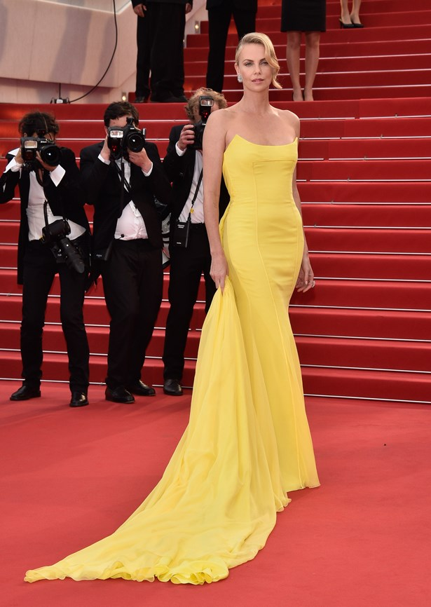 Charlize Theron, 2015.