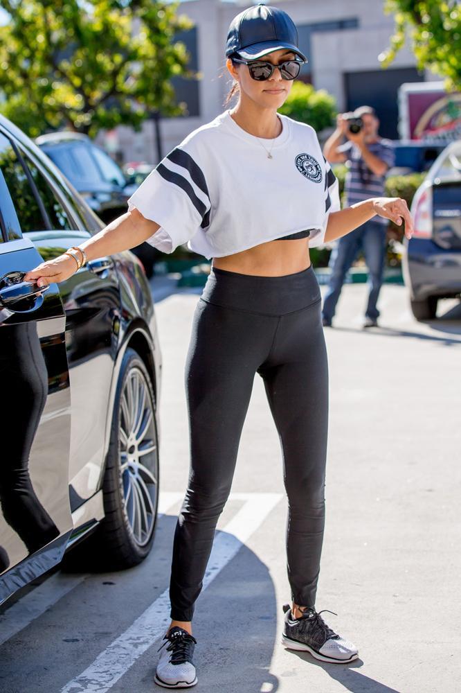 Kourtney Kardashian  Elle