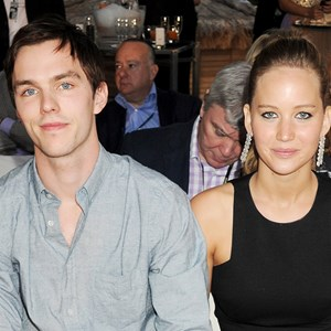 Jennifer Lawrence and Nicholas Hoult.