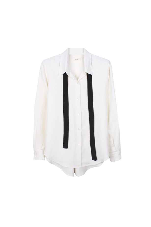 "Shirt, $350, <a href=""https://www.mychameleon.com.au/shirt-with-neck-tie-p-4299.html?currency=AUD&typemf=women"">Matin</a>."