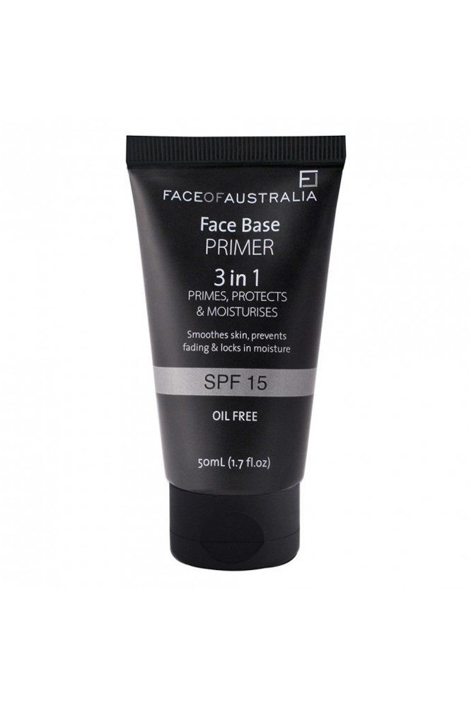 "<a href=""https://www.priceline.com.au/face-of-australia-face-base-primer-3in1-spf-15-50-ml"">Face Base Primer, $12.95, Face Of Australia</a> <br><br> ""I originally bought this off recommendation, and now am wholeheartedly passing on the recommendation."" — Mahalia Chang, digital producer"
