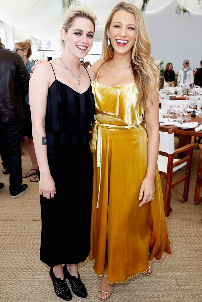 Kristen Stewart and Blake Lively