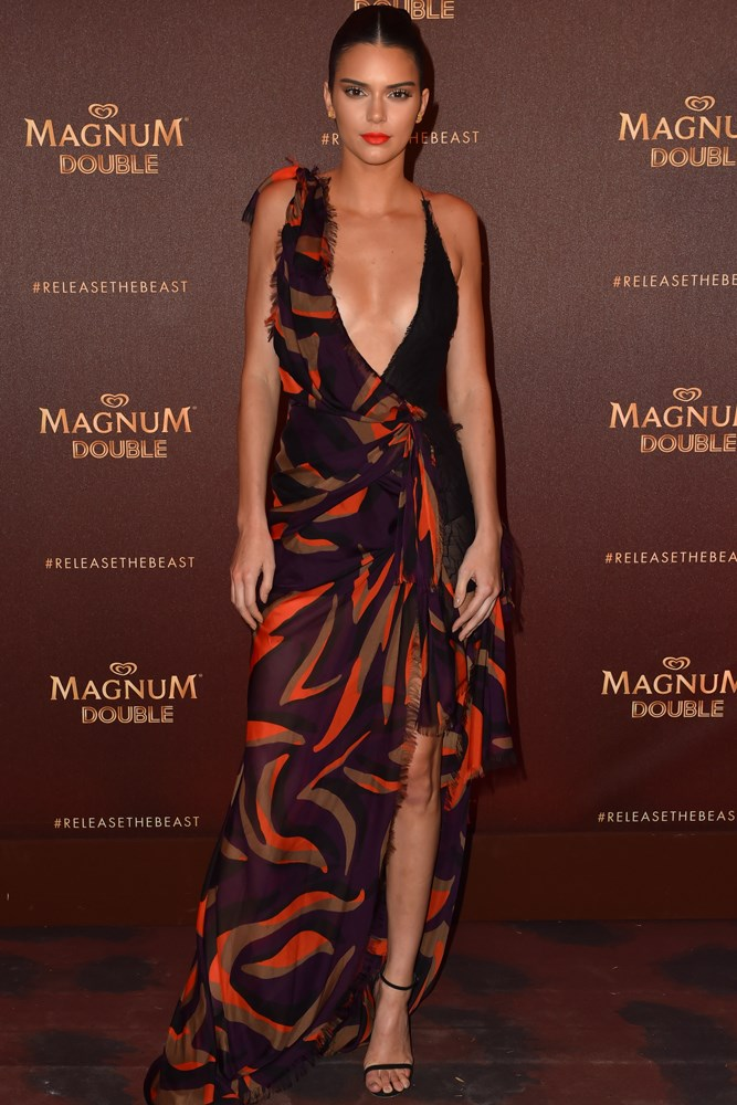 Kendall Jenner at a party hosted by Magnum
