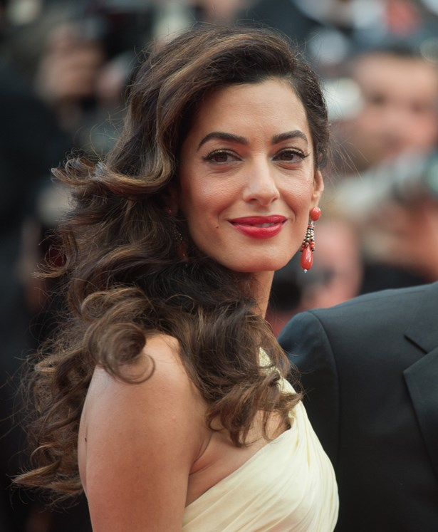 Amal Clooney.