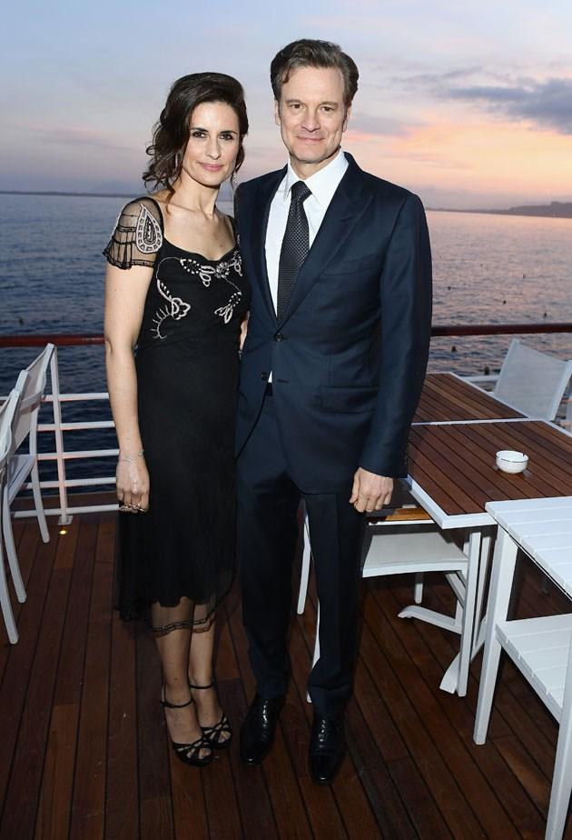 Livia and Colin Firth.