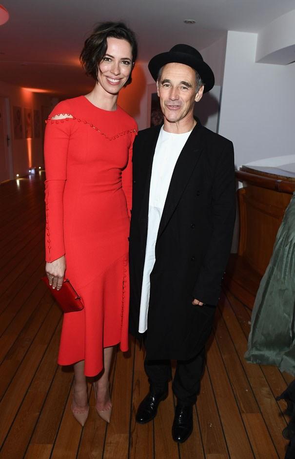 Rebecca Hall and Mark Rylance.