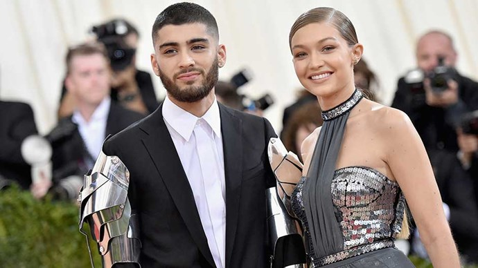 Gigi Hadid and Zayn Malik attend the 2016 Met Gala in New York City