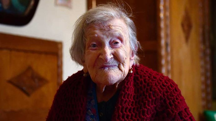 Emma Morano is the world's oldest person at 116 years of age