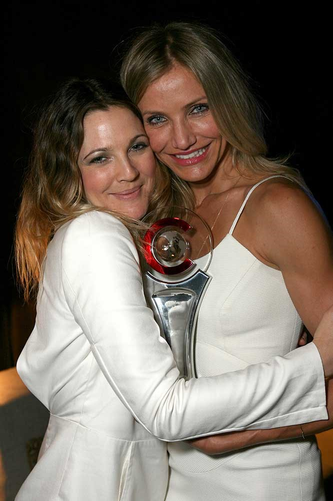 </p><p>Drew Barrymore and Cameron Diaz.