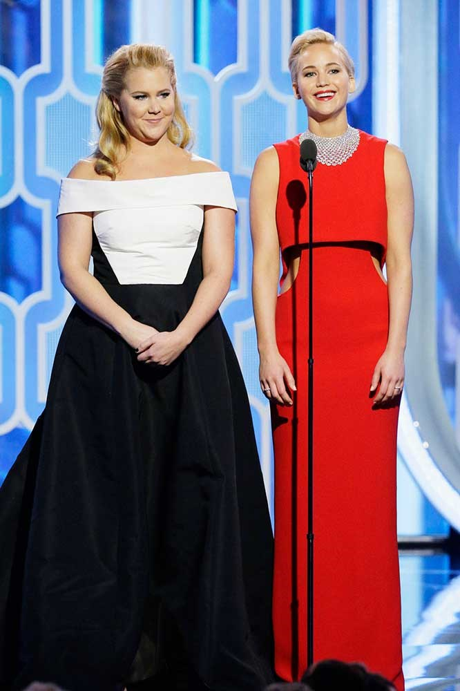 </p><p>Amy Schumer and Jennifer Lawrence.