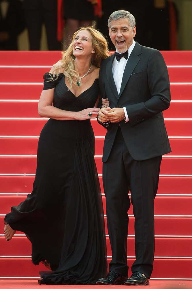 </p><p>Julia Roberts and George Clooney.
