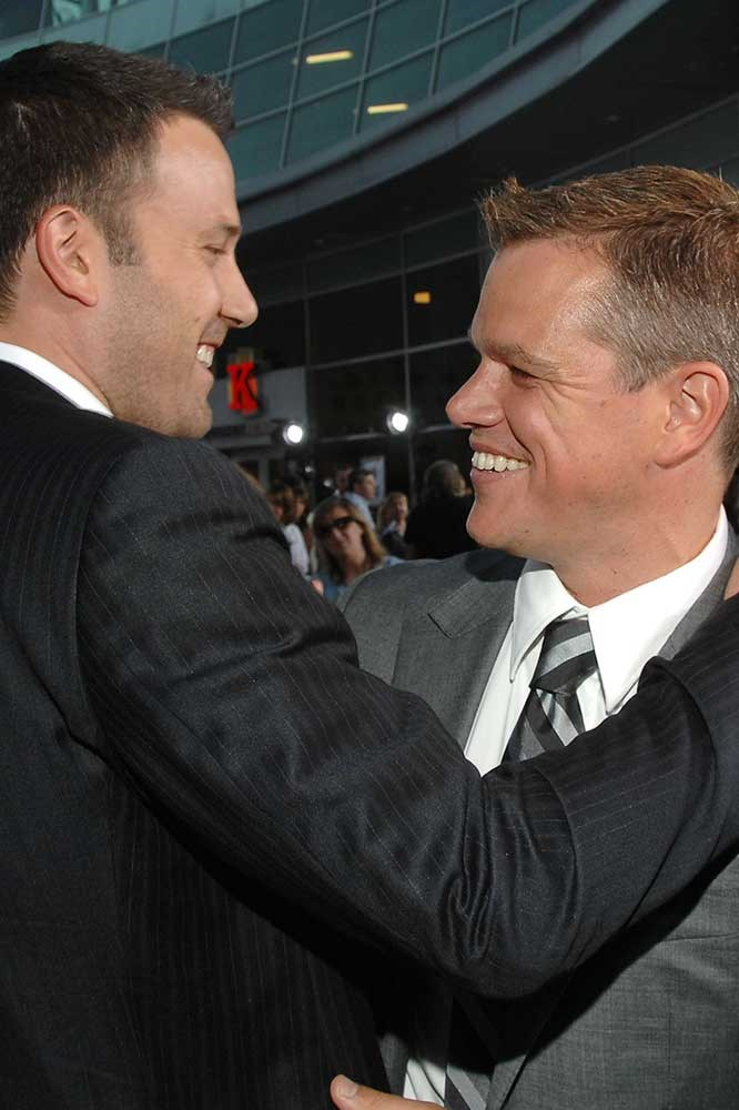 </p><p>Ben Affleck and Matt Damon.