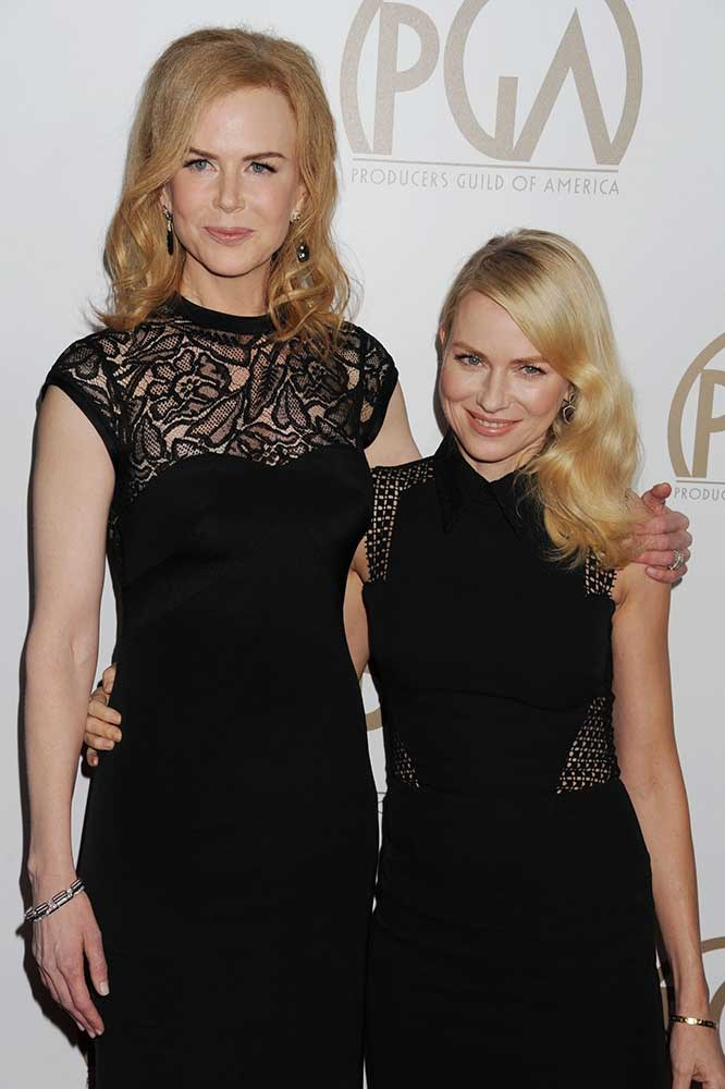 </p><p>Nicole Kidman and Naomi Watts.