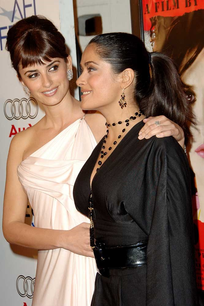 </p><p>Penelope Cruz and Selma Hayak.