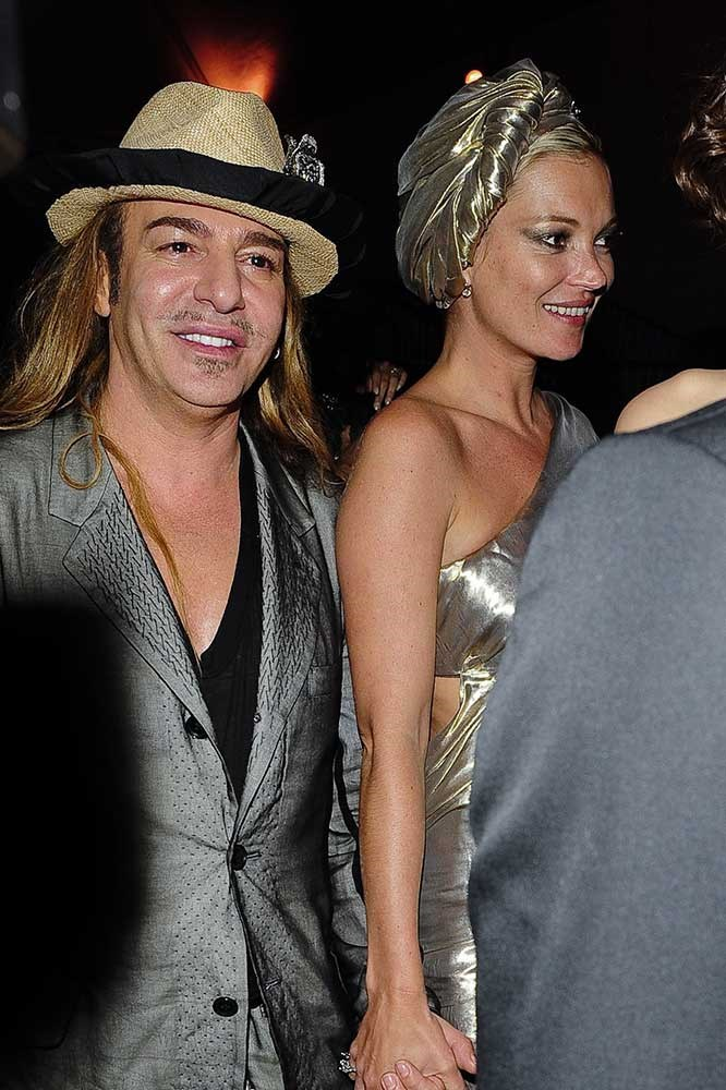 </p><p>John Galliano and Kate Moss.
